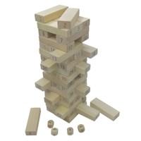 나무블록쌓기 게임/원목/박스형/패밀리