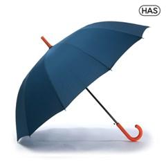 [HAS] 자동 솔리드 장우산 12살대 H1260(NAVY)_딥씨블루_(801660116)