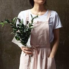 [natural365]데이지 에이프런(핑크)
