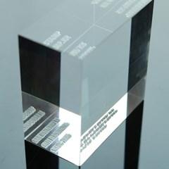 [코리아스탬프]아크릴 비누도장 (25x50mm)