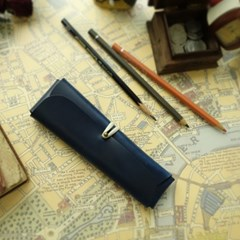 Pencil Case_Cross Folding Deluxe [Prussian Blue]