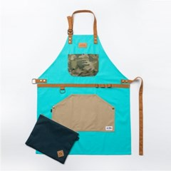 HOLIDAY x IAM A CAMPER apron - mint