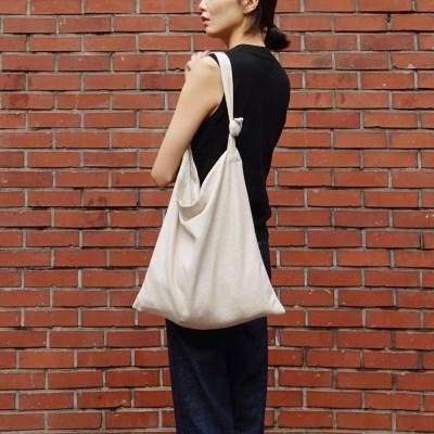 Easy Bag Square (BEIGE LINEN)