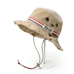 [베네]3색 라인 와이어 트레킹 모자