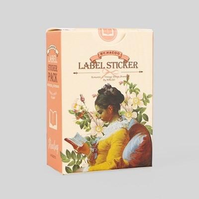 라벨 스티커팩-24 리딩