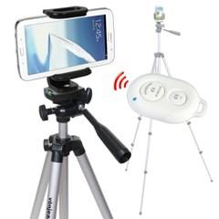 본젠 KM-543 키큰 스마트폰 삼각대+VCM-513T 거치대+S3 리모컨 SET