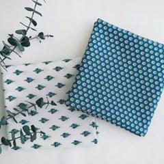 미니팝-블루 루피 손수건