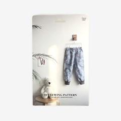 패턴키즈 - WPT1 조거팬츠(여아)