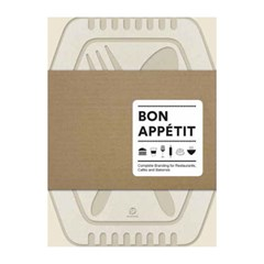 Bon Appetit - Complete Branding for Restaurants, Cafes, and Bake