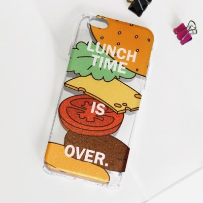 Smile Set Please - Lunch Time 투명 케이스