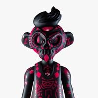 EPICASE Art Figure Skulkey Hotpink
