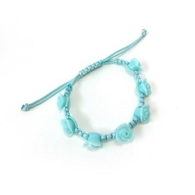 Rose necklace - Mint