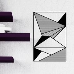 모던추상-07 (S687) 그래픽스티커 벽 포인트 시트지