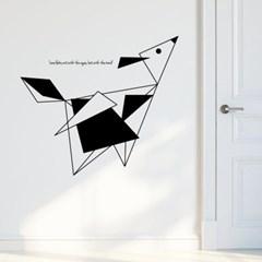 모던추상-12 (S692) 그래픽스티커 벽 포인트 시트지