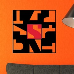 모던추상-15 (S695) 그래픽스티커 벽 포인트 시트지
