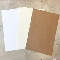 직사각형 카드지 (색상&매수 선택)