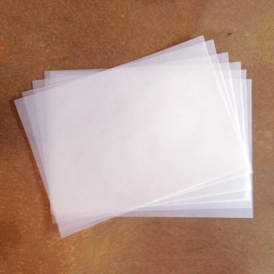 Vellum Paper (기름종이/트레이싱지)