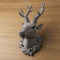 빈티지 인테리어 사슴 벽장식 1P