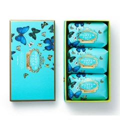 PORTUSCALE Butterfly Soap 150g*3
