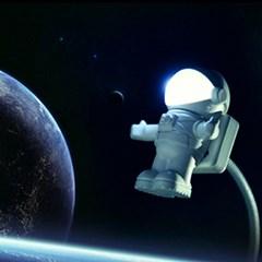 usb 우주인 램프