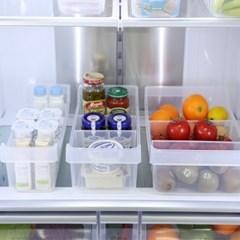 냉장고 오픈 저안트레이 6P 세트 [1호2개+2호2개+3호2개]