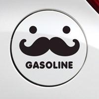 주유구 수염 가솔린 / 자동차스티커 주유구스티커_(348543)