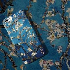 아이폰7/7+ 고흐 꽃이 핀 아몬드나무 명화케이스