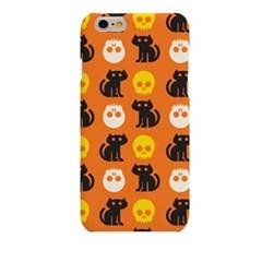 Simple Halloween Skull Cat Hard Case