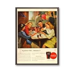 예쁜 커피숍 카페 인테리어 빈티지 코카콜라_Coca-Cola