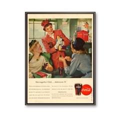 코카콜라 카페 인테리어 액자 빈티지 팝아트_Coca-Cola