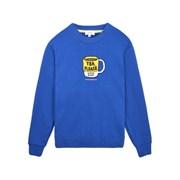 [Tea Please] Mug Sweatshirts Fleece(Blue)_(454127)