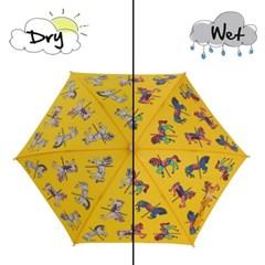 Holly & Beau 컬러체인징 우산 - 캐루셀