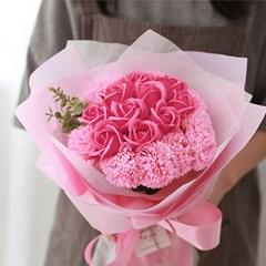 사랑해요 20송이 비누장미 카네이션 꽃다발_(412544)