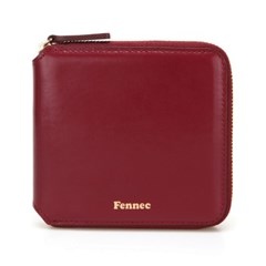 Fennec Zipper Wallet - Marsala
