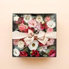 예단생화플라워박스 꽃상자 예단상자 예단꽃상자