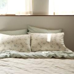 Bedding set(cotton) - 35 Lace flower SS(슈퍼싱글)