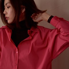 DROP SHOULDER SHIRTS_PINK