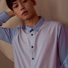 STRIPE SHIRTS_LIGHT BLUE