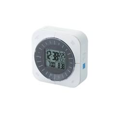 휴대용 베젤식 디지털 월드시계 CLK-DW001