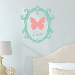 사랑의 나비액자