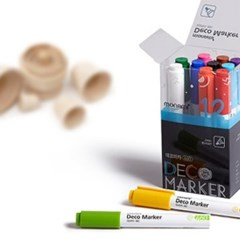 Deco Marker 460 12c(기본12가지 색상)