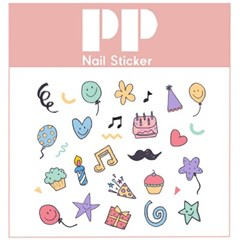 PP NAIL STICKER - PARTY