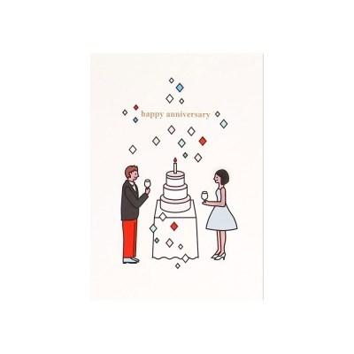 케이크 카드- 커플 파티