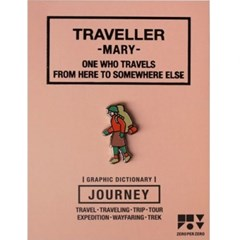 JOURNEY 핀뱃지 - TRAVELLER (MARY)