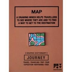 JOURNEY 핀뱃지 - MAP