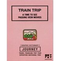JOURNEY 핀뱃지 - TRAIN TRIP 기차여행