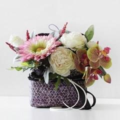 orchid 해바라기 바이올렛 햇박스