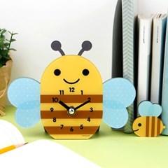 [기성]탁상시계모양꿀벌