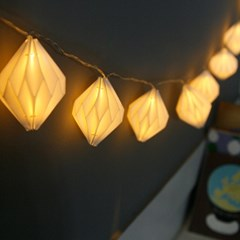 페이퍼 LED 무드 가랜드