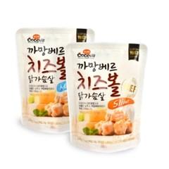 꼬꼬빌 까망베르치즈볼 닭가슴살 슬림/머슬100g 10팩